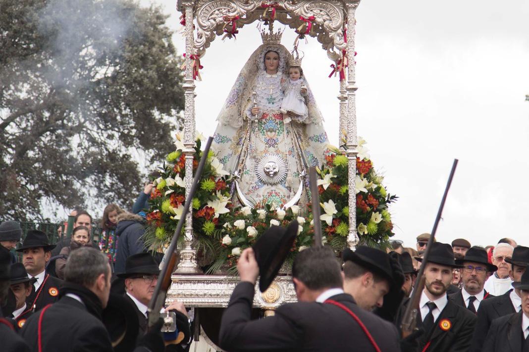 Romería de La Virgen de Luna 2019 (traída) A Pozoblanco.