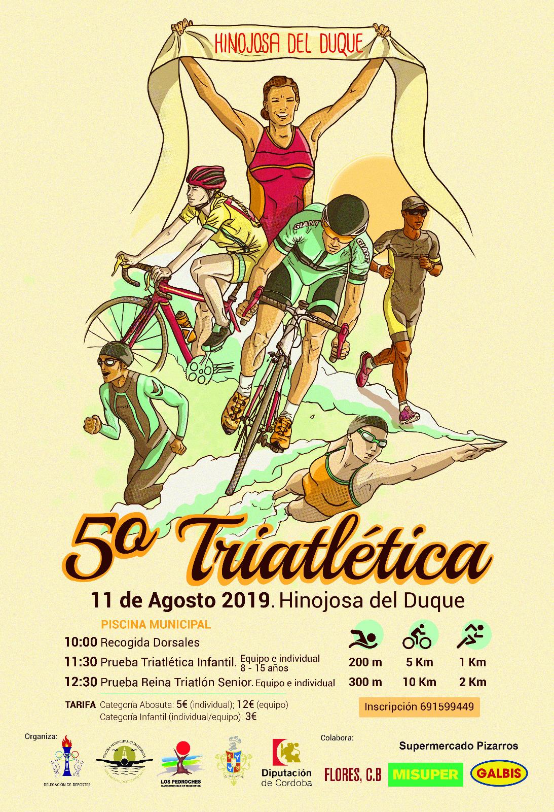 5 triatlética