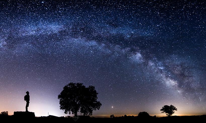 El cielo desde Los Pedroches, un manto de estrellas infinito