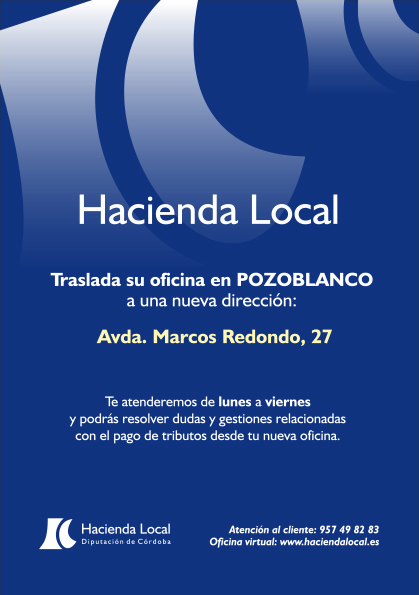 NUEVA SEDE DE HACIENDA LOCAL EN POZOBLANCO