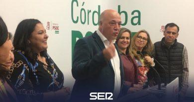 El PSOE gana las elecciones en la provincia de Córdoba