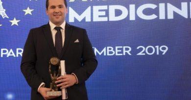 Blas García obtiene un premio Europeo de Medicina en París