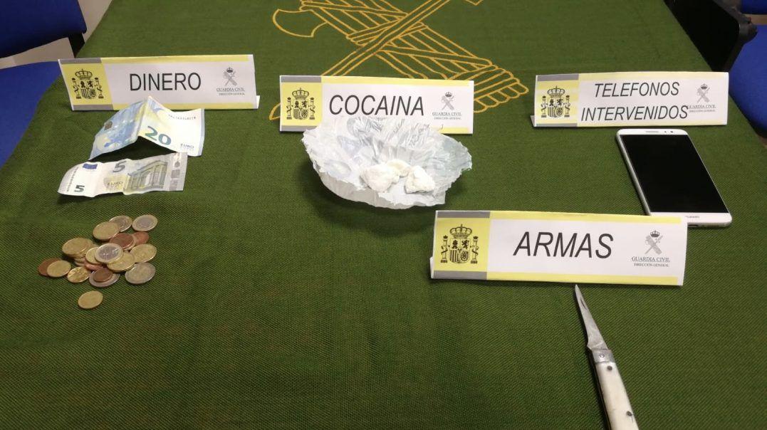 Detenidas en Pozoblanco dos personas por transportar cocaína en el pañal de un bebé