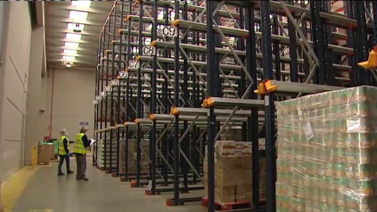 """El Banco de Alimentos lanza un SOS: """"Tenemos comida para 10 o 15 días como mucho"""""""