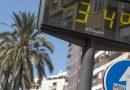 Triple alerta amarilla y naranja en la provincia de Córdoba por calor para este fin de semana