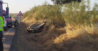 Un joven fallece y otro resulta herido grave en un accidente de tráfico en Fuente La Lancha