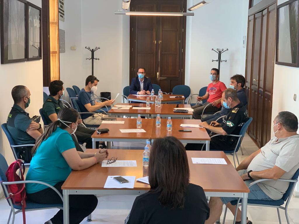 El Ayuntamiento de Pozoblanco celebra la Junta Local de Seguridad para coordinar los protocolos en los exámenes de la PEvAU