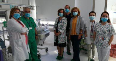 El Hospital Valle de los Pedroches de Pozoblanco atiende 223 nacimientos durante el primer semestre del 2020