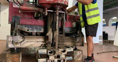 POZOBLANCO :El informe geotécnico del Mercado advierte de la necesidad de extremar el cuidado en la cimentación