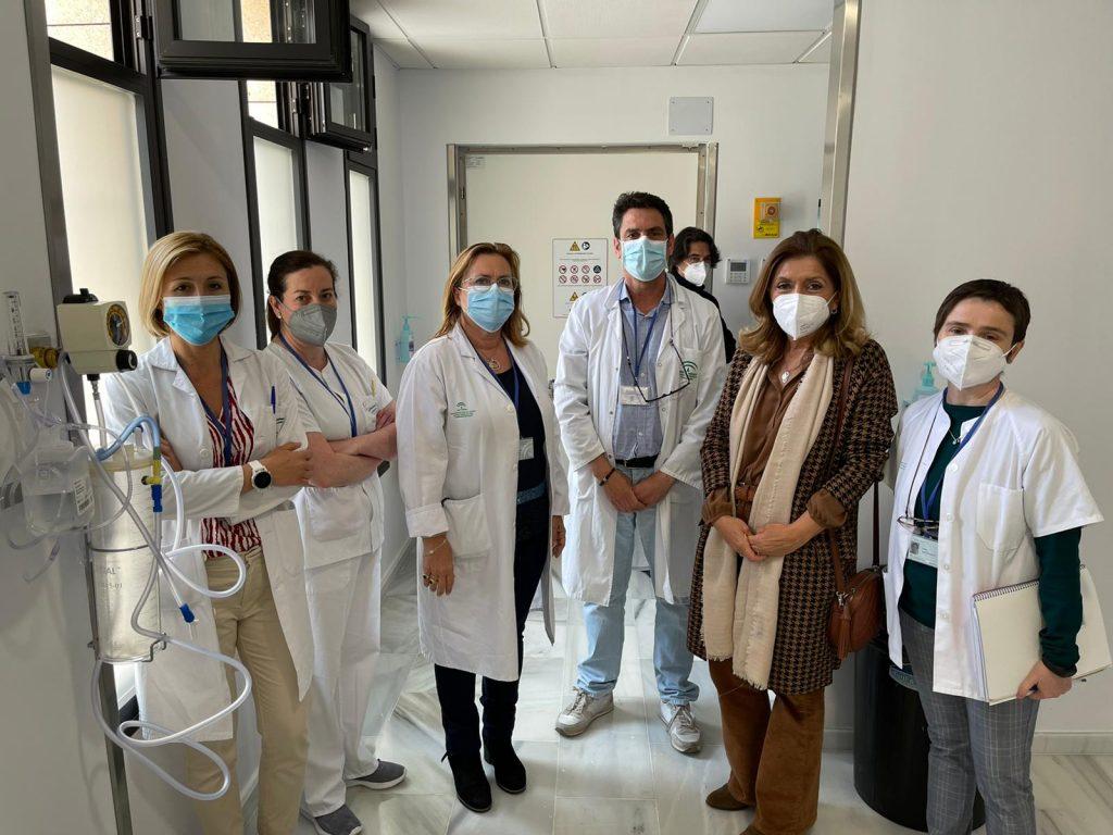 La primera resonancia del Hospital Valle de los Pedroches de Pozoblanco inicia su actividad en el centro