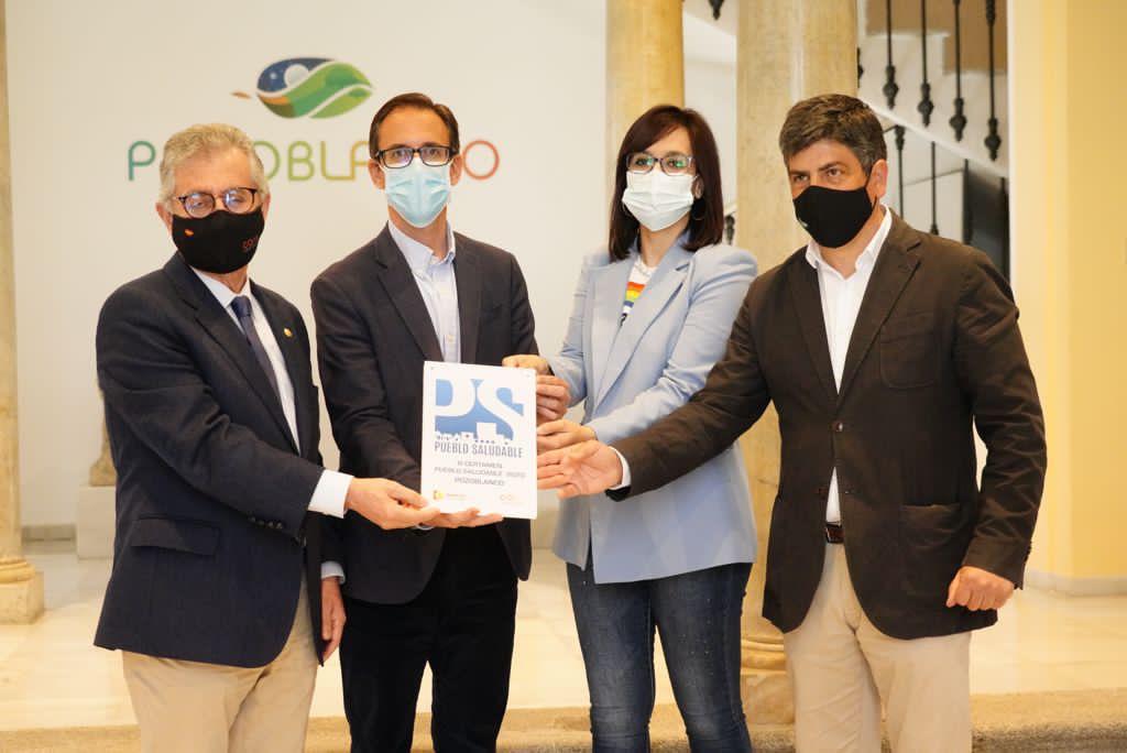 Pozoblanco recibe el premio al municipio más saludable de Córdoba