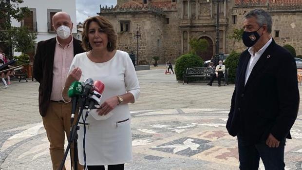 Susana Díaz sobre el sondeo de la Junta: «Si Juanma Moreno quiere animarse, que lo haga con su dinero»