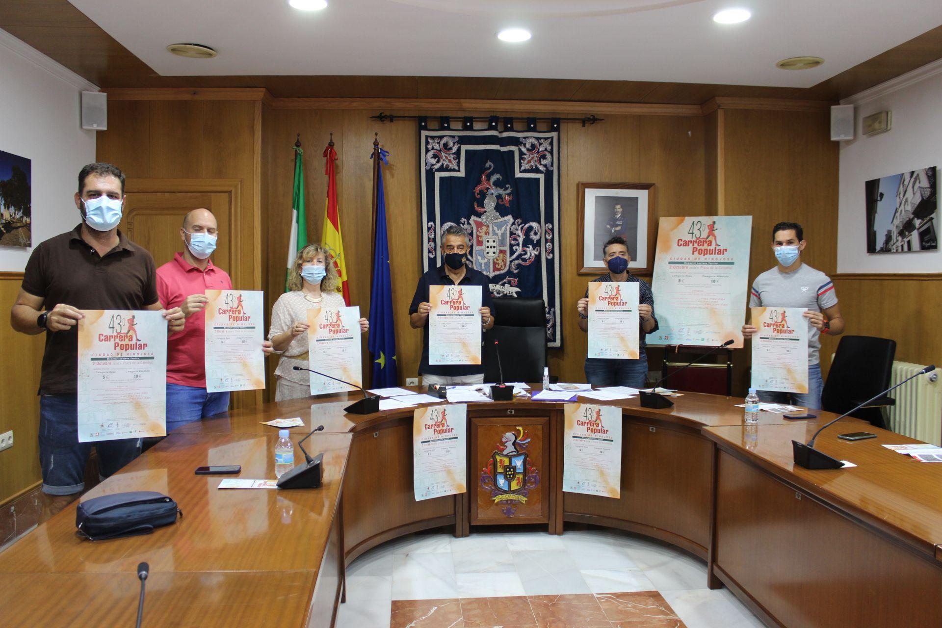 Presentación de la 43ª Carrera Popular 'Ciudad de Hinojosa'