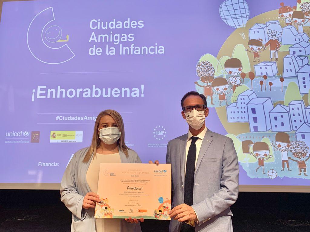 Pozoblanco declarada Ciudad Amiga de la Infancia por Unicef